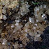 Calcita y Galena.<br />Mina Mineralogia, El Molar, Comarca Priorat, Tarragona, Catalunya, España<br />6´318 x 4´975 mm.<br /> (Autor: Jesus Franquesa Baucells)