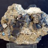 Galena<br />Zona minera Madan, Montes Rhodope, Smolyan Oblast, Bulgaria<br />7 x 5 cm<br /> (Autor: Pedro Antonio)