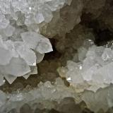Quartz geode Close up of above example. (Author: Bob Harman)
