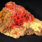Crocoite<br />Adelaide Mine, Dundas mineral field, Zeehan District, West Coast Council, Tasmania, Australia<br />153 mm x 110 mm x 85 mm<br /> (Author: Robert Seitz)