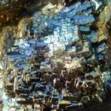 Fluorita, Pirita<br />Grupo Minero Santo Firme (Minas de Villabona), Villabona, Llanera, Comarca del Nora, Asturias, Principado de Asturias, España<br />6 x 4,5 cm.<br /> (Autor: javier ruiz martin)