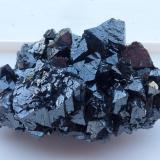 Hausmannita<br />Mina N'chwaning I, Zona minera N'Chwaning, Kuruman, Kalahari manganese field (KMF), Provincia Septentrional del Cabo, Sudáfrica<br />6 x 4 cm.<br /> (Autor: javier ruiz martin)