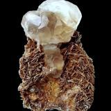 Fluorite, Muscovite<br />Nagar, Hunza Valley, Gilgit District, Gilgit-Baltistan (Northern Areas), Pakistan<br />Specimen height 5 cm, largest fluorite 2 cm<br /> (Author: Tobi)