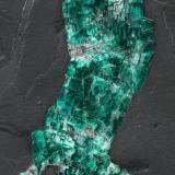Beryl (variety emerald)<br />Gachalá mining district, Matecaña Mine, Municipio Gachalá, Eastern Emerald Belt, Cundinamarca Department, Colombia<br />90x57x49mm<br /> (Author: Fiebre Verde)