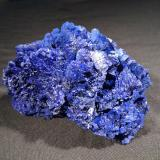 Azurite<br />Nchanga Mine, Chingola, Chingola District, Copperbelt Province, Zambia<br />116 mm x 80 mm x 65 mm<br /> (Author: Robert Seitz)