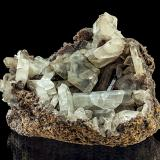 Baryte<br />Dufton Fell Mine, Dufton, Eden District, former Cumberland, Cumbria, England, United Kingdom<br />11,9 x 8,5 x 8,3 cm<br /> (Author: Niels Brouwer)