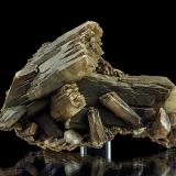 Baryte<br />Mowbray Mine, Frizington, West Cumberland Iron Field, former Cumberland, Cumbria, England, United Kingdom<br />13,4 x 8,1 x 5,5 cm<br /> (Author: Niels Brouwer)