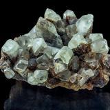 Baryte, Fluorite<br />Clara Mine, Rankach Valley, Oberwolfach, Wolfach, Black Forest, Baden-Württemberg, Germany<br />11,4 x 9,9 x 6,2 cm<br /> (Author: Niels Brouwer)
