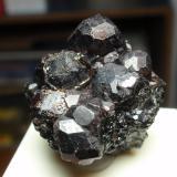Almandino (Grupo Granate)<br />Garnet Ledge, Wrangell, Isla Wrangell, Wrangell-Petersburg, Alaska, USA<br />30x30 mm<br /> (Autor: Ignacio)