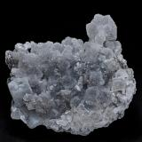 Barite, Quartz, Stibnite<br />Murray Mine, Independence Mountains District, Elko County, Nevada, USA<br />7.6 x 6.4 cm<br /> (Author: am mizunaka)