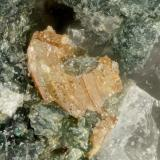 Brookite<br />Hansen Creek Crystal area, Hansen Creek, King County, Washington, USA<br />FOV = 1.1 mm<br /> (Author: Doug)