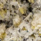Aegirine<br />Summit Rock, Klamath County, Oregon, USA<br />FOV = 3.1 mm<br /> (Author: Doug)