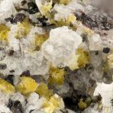 Aegirine<br />Summit Rock, Klamath County, Oregon, USA<br />FOV = 3.3 mm<br /> (Author: Doug)