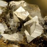 Arsenopyrite<br />Harrison Gold Mine, Bear Mountain, Harrison Lake, Chilliwack, Regional District Fraser Valley, British Columbia, Canada<br />FOV = 1.3 mm<br /> (Author: Doug)