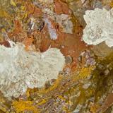 Austinite<br />Kamariza Mines, Agios Konstantinos, Lavrion Mining District, Attikí (Attica) Prefecture, Greece<br />FOV = 4.0 mm<br /> (Author: Doug)