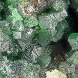 Bayldonite<br />Penberthy Croft Mine, St Michael's Mount, St. Hilary, Mount's Bay District, Cornwall, England, United Kingdom<br />FOV = 2.0 mm<br /> (Author: Doug)