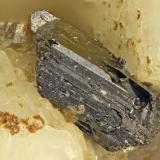 Allanite-(Ce)<br />Washington Pass, Golden Horn Batholith, Okanogan County, Washington, USA<br />FOV = 2.0 mm<br /> (Author: Doug)