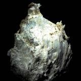 Asbesto (amianto)<br />Pedrera Falinch, Serrat d'en Felinc, Setcases, Comarca Ripollès, Girona / Gerona, Catalunya, España<br />90x65 mm.<br /> (Autor: Jesus Franquesa Baucells)
