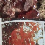 Cinabrio<br />Mina Almadén, Almadén, Comarca Valle de Alcudia, Ciudad Real, Castilla-La Mancha, España<br />Cristal de 1cm<br /> (Autor: Raul Vancouver)