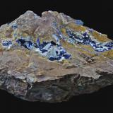 Azurita<br />Bisbee, Distrito Warren, Montes Mule, Condado Cochise, Arizona, USA<br />18,9 x 14,5 cm.<br /> (Autor: Xavier bordas)