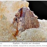 Anatase and Rutile<br />Col de la Madeleine, La Lauzière Massif, Saint-Jean-de-Maurienne, Savoie, Auvergne-Rhône-Alpes, France<br />fov 7.5 mm<br /> (Author: ploum)