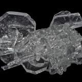 Fluorapophyllite-(K), Natrolite<br />Pune District (Poonah District), Maharashtra, India<br />25 x 15 x 15 mm<br /> (Author: Rob Schnerr)