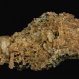 Baryte, Realgar<br />Baia Sprie Mine, Baia Sprie, Maramures, Romania<br />95 x 70 x 25 mm<br /> (Author: Rob Schnerr)