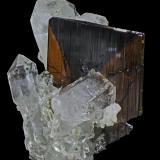 Brookite<br />Nausherwani Mine, Char Kohan, Kharan, Kharan District, Balochistan (Baluchistan), Pakistan<br />36 x 22 x 34 mm<br /> (Author: Rob Schnerr)