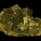 Siderite<br />Mésage Mine, Saint-Pierre-de-Mésage, Vizille, Grenoble, Isère, Auvergne-Rhône-Alpes, France<br />120 x 70 x 40 mm<br /> (Author: Rob Schnerr)