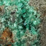 Beryl (variety emerald), Pyrite<br />Muzo mining district, Western Emerald Belt, Boyacá Department, Colombia<br />130x112x90mm<br /> (Author: Fiebre Verde)