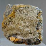 Hemimorfita<br />Mina El Cuco, La Cunilla, Albuñuelas, Comarca Valle de Lecrín, Granada, Andalucía, España<br />Medida: 3,5 x 3,4 x 1,5 cms<br /> (Autor: Joan Martinez Bruguera)