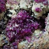 Adamite (variety manganoan)<br />Ojuela Mine, Mapimí, Municipio Mapimí, Durango, Mexico<br />72 mm x 59 mm x 40 mm<br /> (Author: Don Lum)