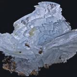 Barita<br />Minas Jebel Ouichane, Beni Bou Ifrour, Nador, Provincia Nador, Región Oriental, Marruecos<br />7,5 x  6,5 cm.<br /> (Autor: Xavier bordas)