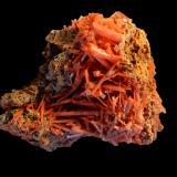Crocoite<br />Tasmania, Australia<br />120x80x70 mm<br /> (Author: Dany Mabillard)