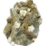 Fluorite, Baryte, Dolomite<br />Tannenboden Mine, Wieden (Schwarzwald), Lörrach, Freiburg, Baden-Württemberg, Germany<br />Specimen height 9,5 cm<br /> (Author: Tobi)