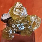Sphalerite<br />Aït Ahmane, Bou Azzer District, Tazenakht, Ouarzazate Province, Souss-Massa-Drâa Region, Morocco<br />3 cm.x3cm.<br /> (Author: Enrique Llorens)