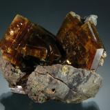 Baryte<br />Magma Mine, Superior, Pioneer District, Pinal Mountains, Pinal County, Arizona, USA<br />3.1 cm x 4.0 cm<br /> (Author: Michael Shaw)