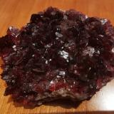 Roselite<br />Arhbar Mine, Bou Azzer District, Tazenakht, Ouarzazate Province, Souss-Massa-Drâa Region, Morocco<br />7,5 cm x 6,5 cm<br /> (Author: Enrique Llorens)