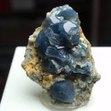 Cuarzo (variedad azul)<br />Ofitas de Olvera, Olvera, Comarca Sierra de Cádiz, Cádiz, Andalucía, España<br />20x30 mm<br /> (Autor: Ignacio)