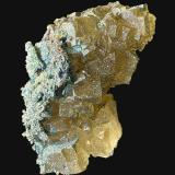 Fluorita, Pirita<br />Grupo Minero Santo Firme (Minas de Villabona), Villabona, Llanera, Comarca del Nora, Asturias, Principado de Asturias, España<br />9,2 x 8,9 cm.<br /> (Autor: Xavier bordas)