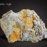 Maricopaita<br />Mina Moon Anchor, Hummingbird Spring, Distrito Osborn, Montes Bighorn, Condado Maricopa, Arizona, USA<br />86 x 57 x 47 mm.<br /> (Autor: Rafael Galiana)