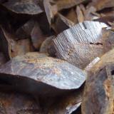 Siderita<br />Minas de hierro de Ojos Negros, Ojos Negros, Comarca Jiloca, Teruel, Aragón, España<br />12 x 7 cm.<br /> (Autor: javier ruiz martin)