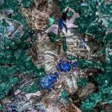 Dioptase, Quartz, Plancheite<br />Sanda Quarry, Mindouli, Mindouli District, Pool Department, Democratic Republic of the Congo (Zaire)<br /><br /> (Author: am mizunaka)