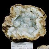Quartz (variety chalcedony)<br />Monroe County, Indiana, USA<br />15 cm<br /> (Author: Bob Harman)