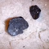 Hematite<br />Monte Cervandone, Devero Alp, Baceno, Ossola Valley, Verbano-Cusio-Ossola Province, Piedmont (Piemonte), Italy<br />122 x 62 mm<br /> (Author: Sante Celiberti)