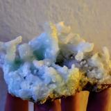 Aragonito<br />Explotación La Florina, Mina Gloria Segunda, Hornachuelos, Comarca Valle Medio del Guadalquivir, Córdoba, Andalucía, España<br />9,3 x 6,6 cm.<br /> (Autor: Carles)