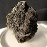 Arsenopirita<br />Mina Gavorrano, Gavorrano, Provincia Grosseto, Toscana, Italia<br />44 x 38 mm<br /> (Autor: Sante Celiberti)