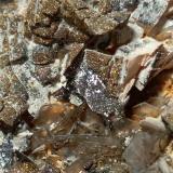Dolomite, Muscovite, Pyrite<br />Devero Alp, Baceno, Ossola Valley, Verbano-Cusio-Ossola Province, Piedmont (Piemonte), Italy<br />87 x 47 mm<br /> (Author: Sante Celiberti)