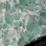 Fluorite with Quartz and Pyrite<br />Baimashan tunnel (construction site), Qianbaxia, Wuyishan, Nanping Prefecture, Fujian Province, China<br />9 x 7 cm<br /> (Author: Volkmar Stingl)