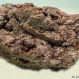 Andradita (Grupo Granate)<br />Mines de Can Montsant, Can Montsant (Massís del Montnegre), Hortsavinyà, Tordera, Comarca Maresme, Barcelona, Catalunya, España<br />7 x 5 cm<br /> (Autor: Joan Niella)